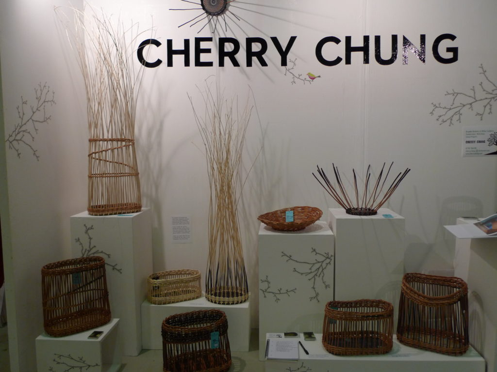 Stand at Great Northern Contemporary Craft Fair, Manchester